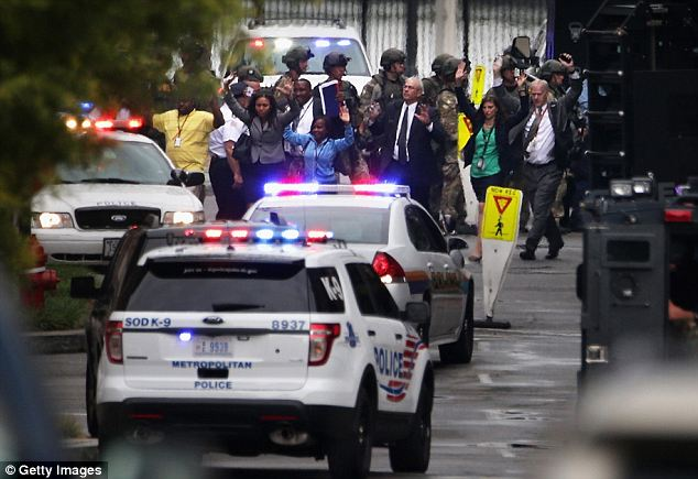 Bad timing: Pushkev's comments came as the death toll was still rising from the Washington Navy Yard shooting he mocked. As of Monday afternoon, 12 people were counted among the dead