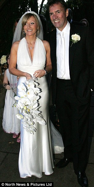 Bitter Break: Duncan and Joanne at their wedding in 2006. They were divorced in February 2012 in painful circumstances