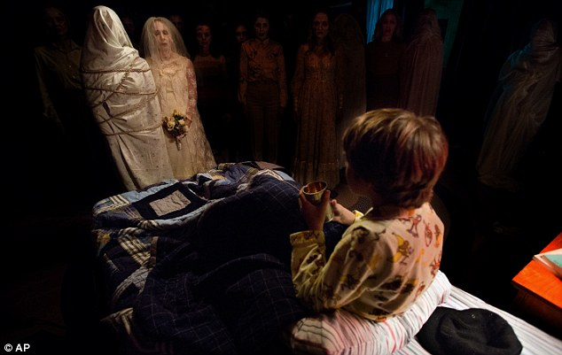 Audiences flocked to see the scary spirits in 'Insidious: Chapter Two,' seen here, over the weekend