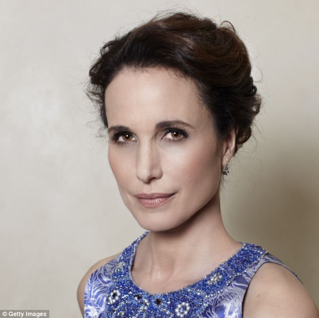 Still got it: Andie MacDowell, 55, is proof that women can be fabulous in their fifties