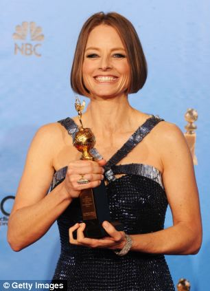Older but better: American women say they are happiest in their fifties, like actress Jodi Foster