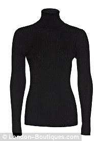 Black knit