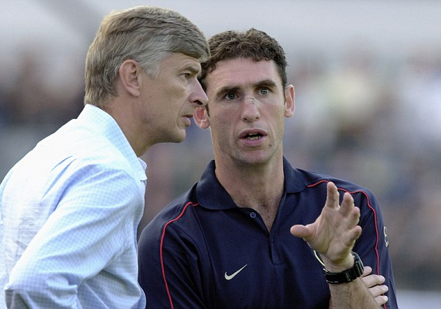 Arsenal legend: Keown enjoyed a successful spell with the Gunners, winning three Premier League titles