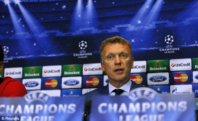 Under the spotlight: David Moyes embarks on his first Champions League campaign with Manchester United
