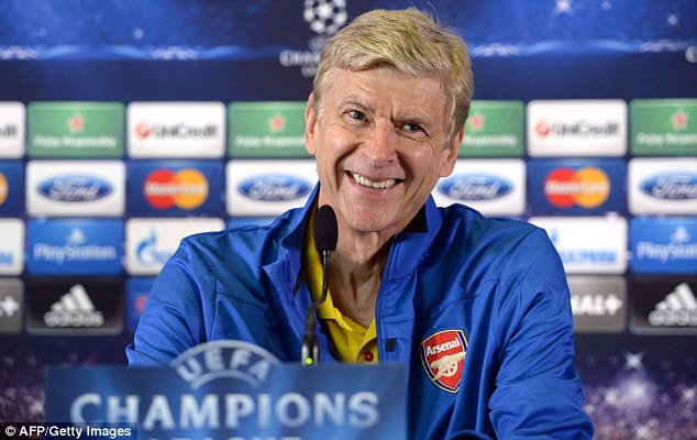 Must win? Wenger will be looking to get a first win on the board in a tricky group containing Napoli and Dortmund