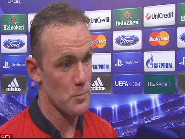 Listen: Rooney insisted he was concentrating on his football