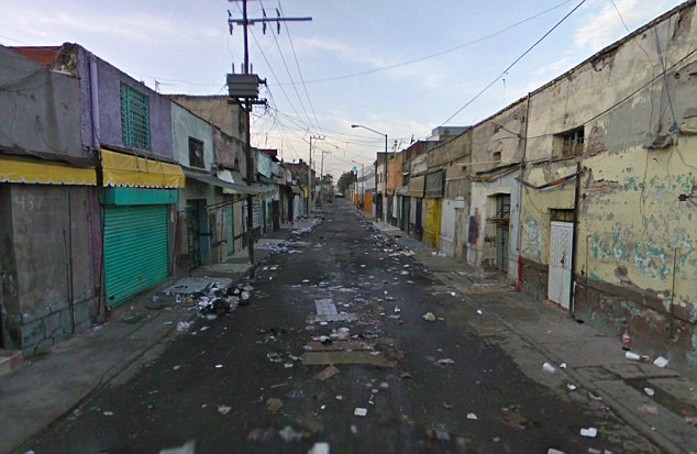 Best avoided: Tepito, a Mexican barrio in the Cuauhtémoc borough of Mexico City has been notorious as a no go area for centuries. Today it is known for robberies and drug crime