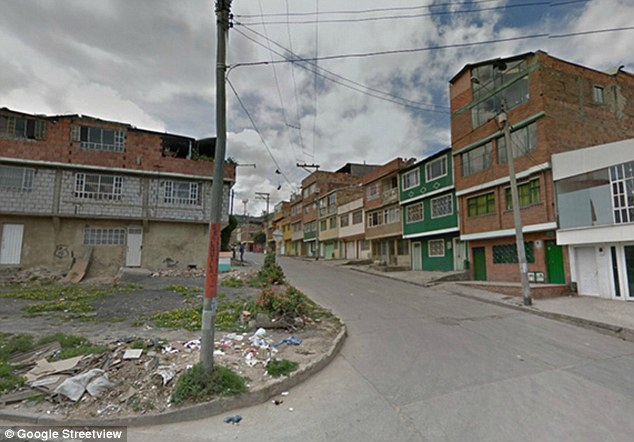 Bogota, Colombia, is one of the most dangerous cities in the world and  Ciudad Bol var, is one of its most notorious streets