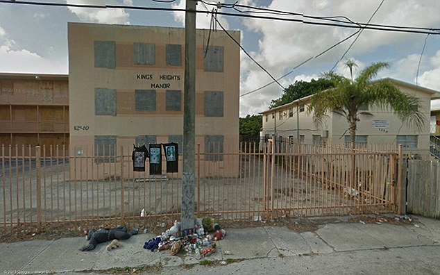 Liberty City, Miami, U.S. is not a place where you would want to find yourself late at night on your own judging by this Google Maps picture