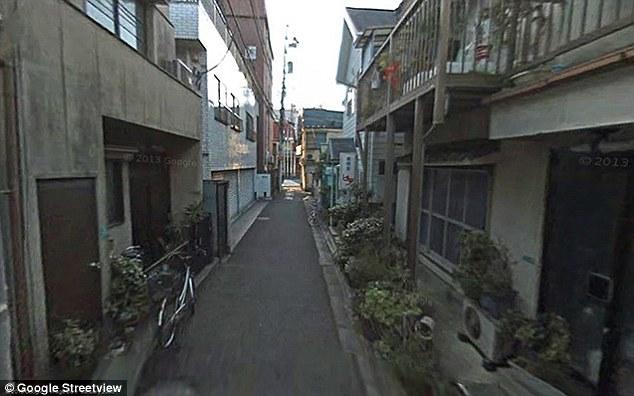 Ghost town: San'ya in Tokyo, Japan is known for its vacant buildings and vacant buildings and poverty. Roadsigns warn drivers to beware of people sleeping in the streets