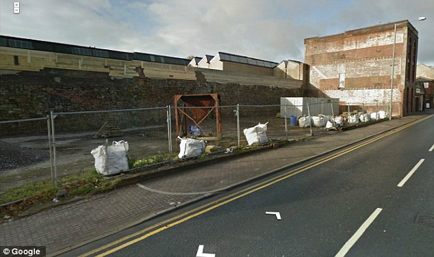First impressions: Trafalgar Street in Burnley could do with a tidy up in this image caught by a Google car