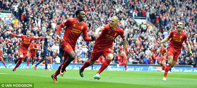 Together: Liverpool's side are far more cohesive than in previous years