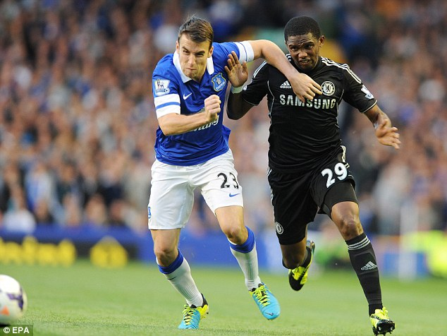 Beat away: Samuel Eto'o (right) looks to be their main man this season, but will he cut it?
