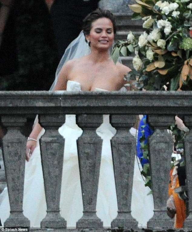 I do! The 34-year-old singer and the 27-year-old model tied the knot in an intimate ceremony at a lavish estate in Italy's Lake Como on September 14