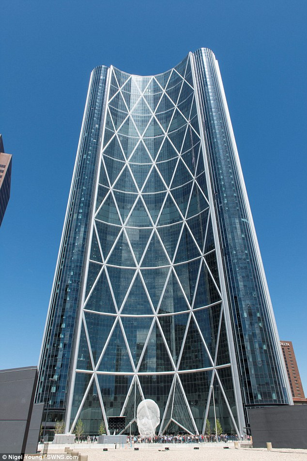 The Bow: No British buildings made onto the list, but this one in Calgary, Canada, was designed by a UK firm