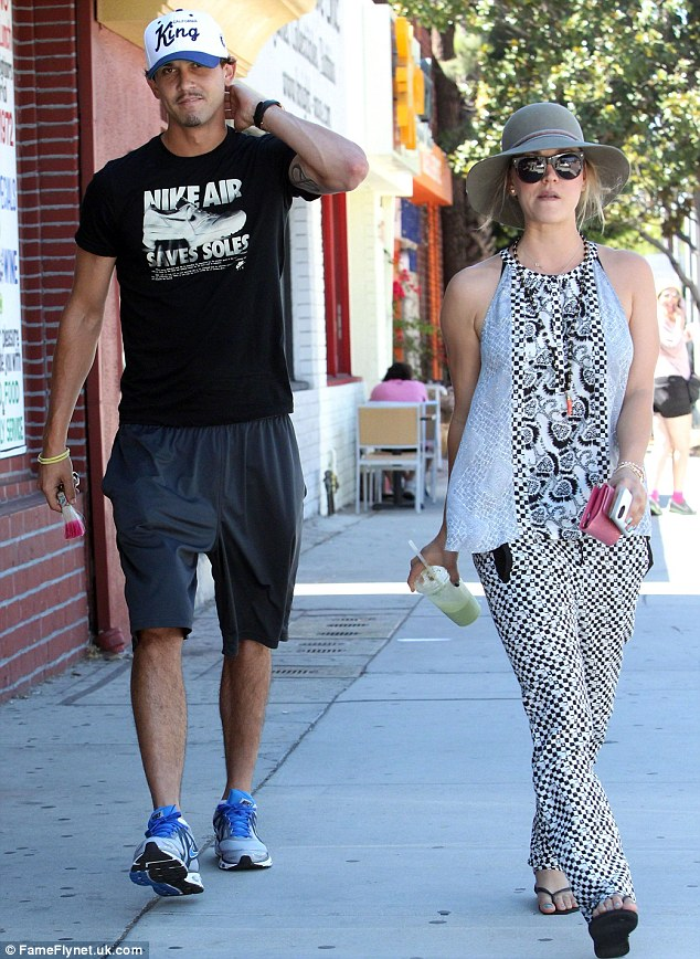Her new distraction: Kaley has been in the news recently for dating tennis player Ryan Sweeting