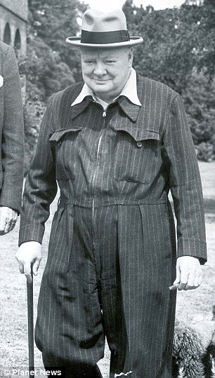 Sarah's suggestion for any MP in doubt about what to wear is to follow the approved Tory fashion of the past: a Winston Churchill-style onesie
