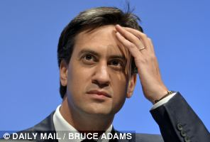 Labour leader Ed Miliband was accused of waiting for victory to fall into his lap