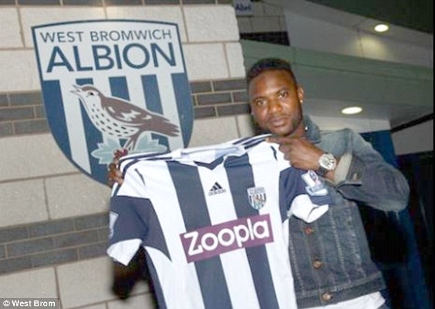 Big impact: Stephane Sessegnon has joined West Brom from Sunderland for a record fee