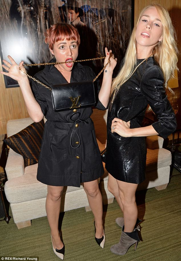 Jamie Winstone and Mary Charteris at a Louis Vuitton dinner to celebrate the Men's Autumn Winter 2013 Collection in London this week