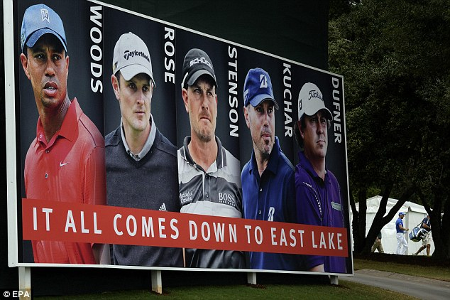 Big guns: A host of the world's top stars have the chance to walk away with the FedEx Cup bonus