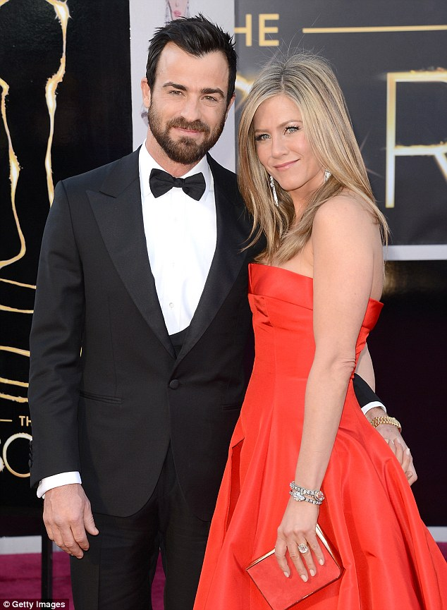 Parents to be? The engaged actors pose at the Oscars in February