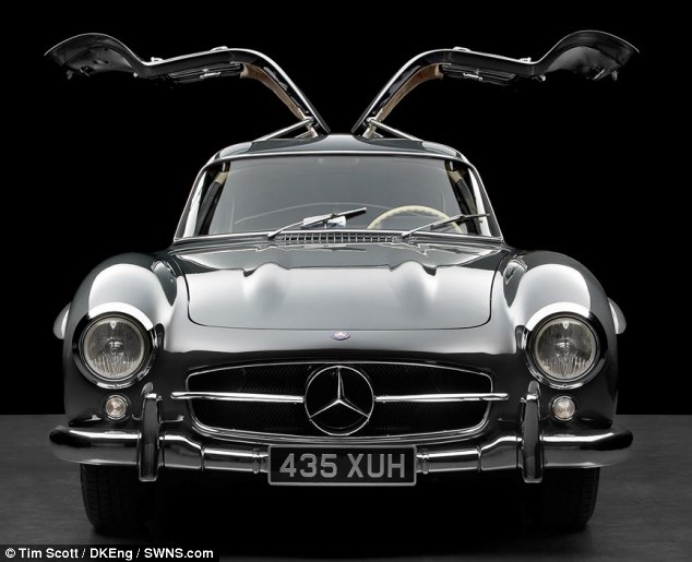 Bernie Ecclestone's iconic Mercedes 300SL Gullwing is on the market for £1million, which is £700,000 more than he sold it for