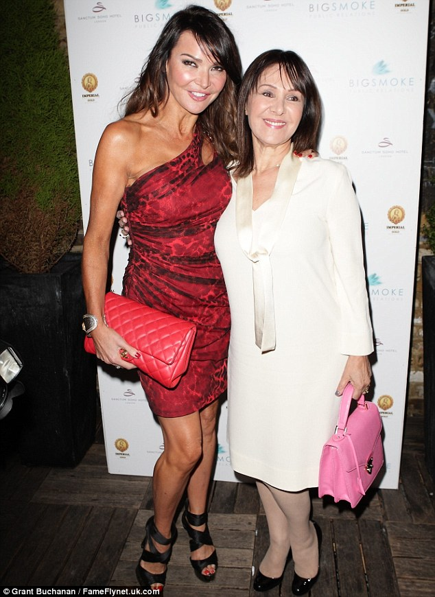 Showbiz chums: Also joining the Made In Chelsea gang at the star-studded bash were the likes of ex Strictly Come Dancing judge Arlene Phillips and WAG Lizzie Cundy
