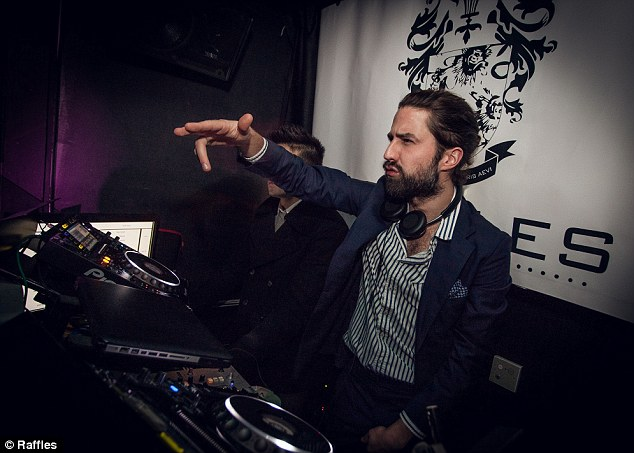 Hey, Mr DJ! The gang were treated to an exclusive DJ set by Jack Guinness to close London Fashion Week in style