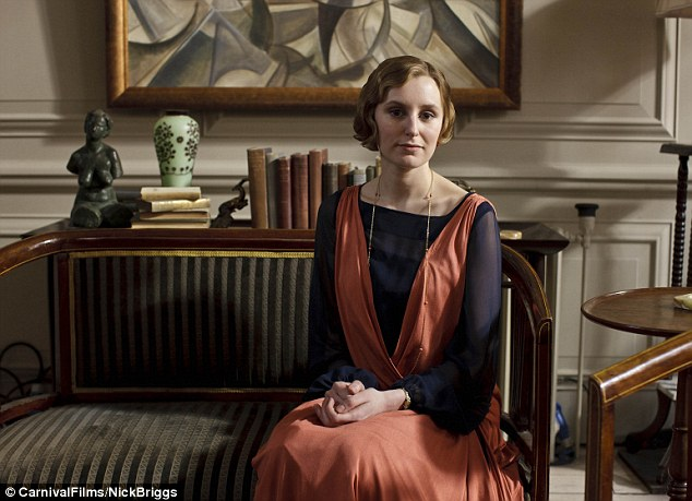 Edith: Laura Carmichael looks as elegant as ever as the Lady