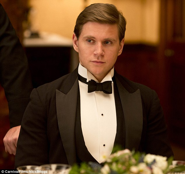 'Hope you enjoy the first episode of Season 4!' Also hyping Downton on the social networking site was Allen Leech, who plays chauffeur-turned-estate manager Tom Branson