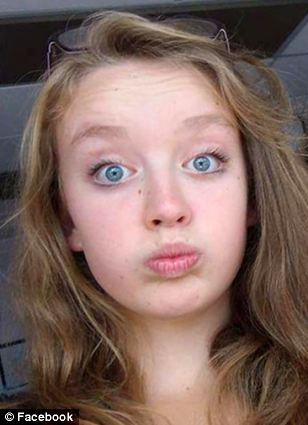 Tragic: Devon schoolgirl Izzy Dix was found dead by her mother at her home in Brixham on Tuesday