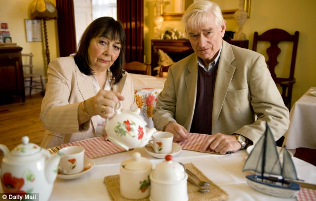 Threatened: Peter and Hazelmary Bull say they have suffered a campaign of abuse over their policy on gay couples