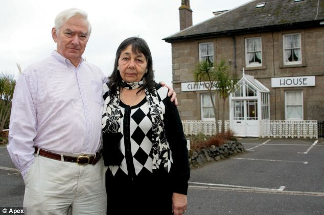No way forward: Hazelmary and Peter Bull say they can't face another winter like last year when they went 'cold and hungry' because of money worries