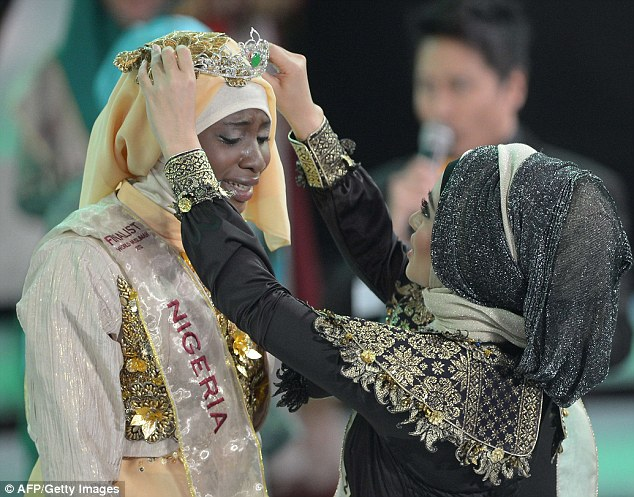 The finale of a beauty pageant exclusively for Muslim women took place in Jakarta