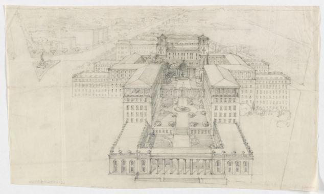 Proposed Masonic Temple Complex