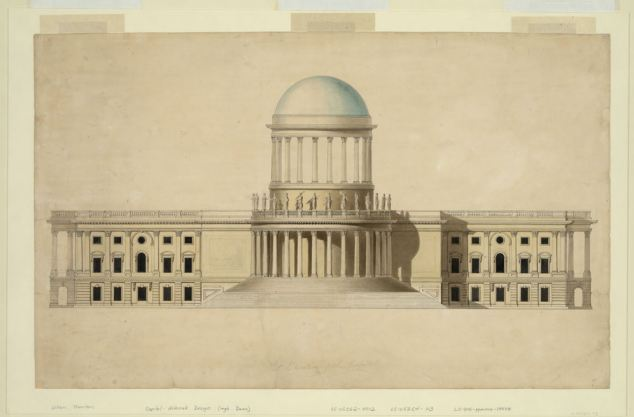 Proposed design for the US Capitol