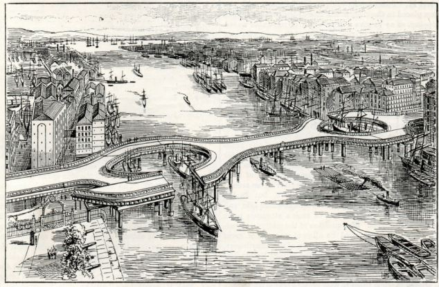 Tower Bridge as it Might Have Been Design