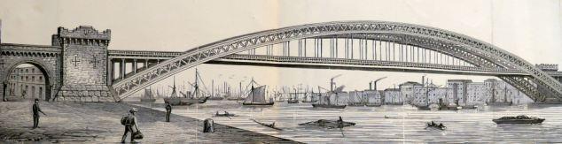 Sir Joseph Bazalgette design for Tower Bridge