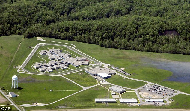 World's apart: Tamms 'supermax' prison opened in 1998 was closed on  January 4 this year due to budget cuts. Many in the area felt betrayed at the huge prison facility had brought many jobs