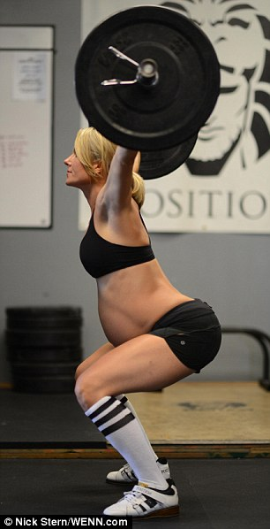 Lea-Ann began her crossfit career after the birth of her second child, who is now eight