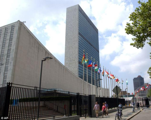 A leaked copy of a United Nations report, compiled by hundreds of scientists, shows politicians in Belgium, Germany, Hungary and the United States have raised concerns about the final draft. Above, the United Nations headquarters building in New York
