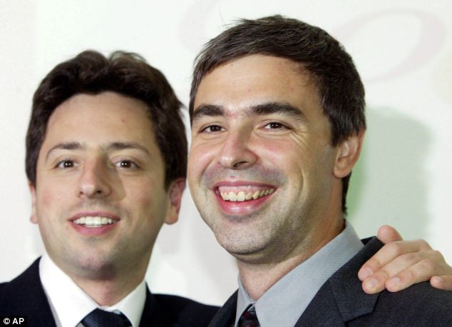 Google co-founders Sergey Brin, left, and Larry Page, actively encouraged fierce debate among staff, according to the report