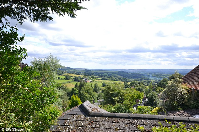 View from the Hovis Cottage which is up for sale