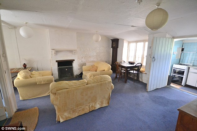 Interior shot of the Hovis Cottage which is up for sale