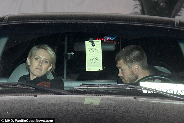 Loves his co-stars: Trouble in paradise first became evident after Chad was photographed with his Left Behind co-star Nicky Whelan at the Chateau Marmont
