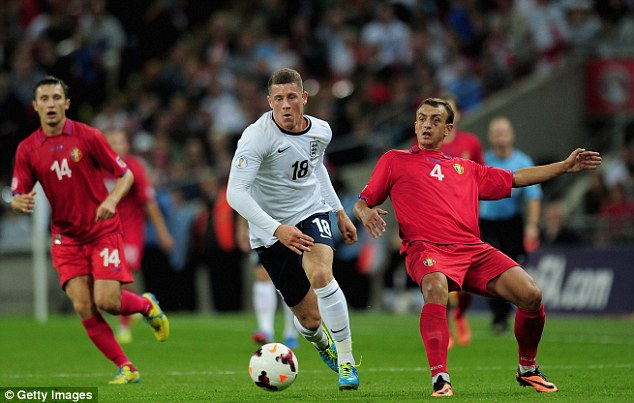 Recognition: Barkley looked good during his international cameo against Moldova