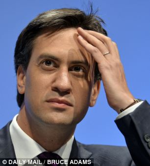 Warned: Ed Miliband has been told he needs to understand 'how people feel' rather than take an academic approach to politics