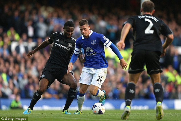 Impressive: Ross Barkley has had an excellent start to the season