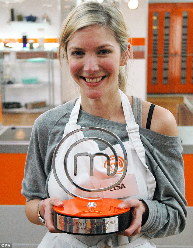 Actress turned property expert: Lisa was crowned Celebrity MasterChef 2010